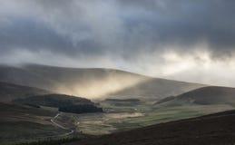 Глен Gairn в Шотландии Стоковое Изображение RF