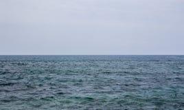 Где небо и море встречают Стоковые Фото