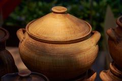 Глина керамического бака handmade Стоковое фото RF