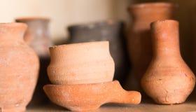 глиняные горшки Стоковая Фотография