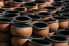Глиняный кувшин терракоты Стоковое Фото