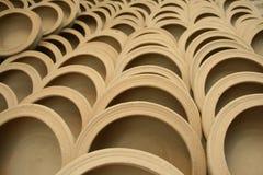 Глиняный кувшин терракоты Стоковое фото RF
