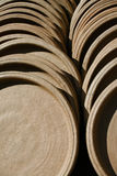 Глиняный кувшин терракоты Стоковая Фотография