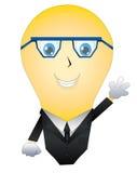 Г-н вектор света иллюстрации идеи принципиальной схемы шарика Стоковые Фото