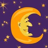 Г-н Луна Стоковое Фото