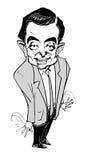 г-н серия карикатуры фасоли Стоковое Фото