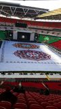 Г-н Modi в стадионе Wembley Стоковые Фотографии RF