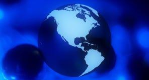 Глобальная будущая предпосылка дела Стоковое Изображение