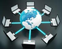 глобальная вычислительная сеть Стоковые Фотографии RF