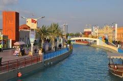 Глобальная деревня в Дубай, ОАЭ стоковое изображение