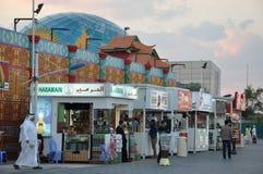 Глобальная деревня в Дубай, ОАЭ стоковые фото