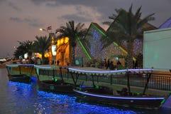 Глобальная деревня в Дубай, ОАЭ стоковое изображение rf