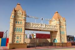 Глобальная деревня Dubailand в Дубай Стоковые Изображения