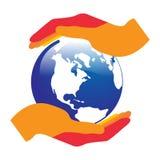 Глобальная забота Стоковое Изображение