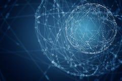 Глобальная концепция беспроводной связи стоковые изображения rf