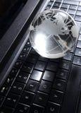 Глобальная концепция компьютера Стоковые Фото