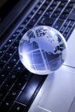 Глобальная концепция компьютера Стоковое фото RF