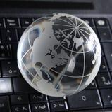Глобальная концепция компьютера Стоковая Фотография RF