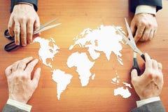 Глобальная концепция политики Стоковое Изображение RF