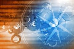 Глобальная концепция технологий Стоковое Изображение RF