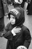 Глобальная оплакивая церемония Ashura Мученики Commemor Кербелы Стоковое Изображение