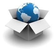 Глобальная доставка Стоковые Изображения