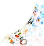 Глобальная предпосылка дела концепции компьютерной технологии безграничности бесплатная иллюстрация