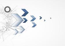 Глобальная предпосылка дела принципиальной схемы компьютерной технологии безграничности Стоковые Фотографии RF