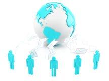 Глобальная связь Стоковое Изображение