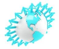 Глобальная связь Стоковые Фотографии RF
