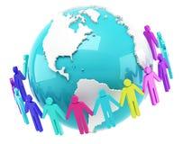 Глобальная связь Стоковое Фото