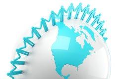 Глобальная связь Стоковые Изображения