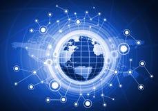 Глобальная сеть Стоковые Изображения