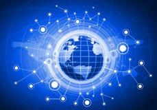 Глобальная сеть Стоковая Фотография RF