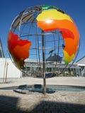 Глобальное потепление - глобус климата Стоковые Фото