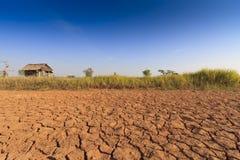Глобальное потепление причиняет меньше осадки должные к засухе Стоковое Изображение