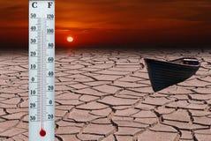 глобальное потепление Стоковые Изображения