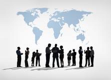 Глобальное Busienss Стоковое Изображение