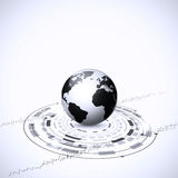 Глобальные соединения технологии Стоковое Фото