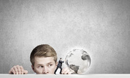 Глобальные технологии Стоковые Изображения RF