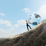 Глобальные технологии Стоковые Фото
