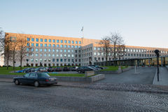 Глобальные штабы линии Maersk Стоковые Изображения RF