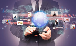 Глобальный бизнес Стоковые Фотографии RF