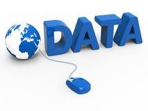 Глобальный интернет представляет Всемирный Веб и данные Стоковые Фотографии RF