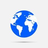 Глобусы земли иллюстрация вектора
