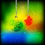 Глобусы рождества Стоковые Фотографии RF