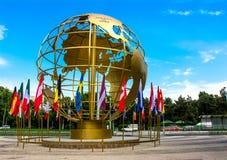 глобус золотистый Стоковые Фото