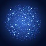 Глобус сети Стоковое Изображение