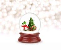 Глобус снега рождества Стоковые Изображения