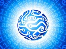 Глобус цепи Стоковые Фото